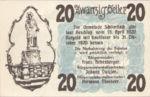 Austria, 20 Heller, FS 962I