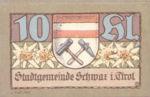 Austria, 10 Heller, FS 983b