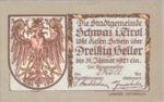 Austria, 30 Heller, FS 983b