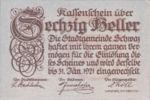 Austria, 60 Heller, FS 983b