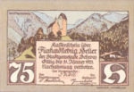 Austria, 75 Heller, FS 983b
