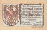 Austria, 30 Heller, FS 983c