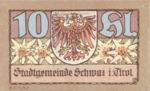 Austria, 10 Heller, FS 983f