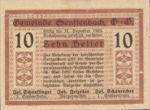 Austria, 10 Heller, FS 992a
