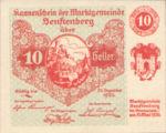 Austria, 10 Heller, FS 993b