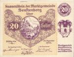 Austria, 20 Heller, FS 993d