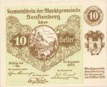 Austria, 10 Heller, FS 993f