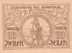 Austria, 20 Heller, FS 1000