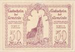 Austria, 50 Heller, FS 1000
