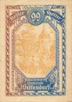 Austria, 99 Heller, FS 1001d