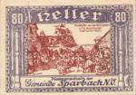 Austria, 80 Heller, FS 1006a