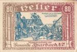 Austria, 80 Heller, FS 1006e