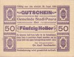 Austria, 50 Heller, FS 1008Ia