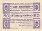 Austria, 50 Heller, FS 1008Ib