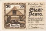 Austria, 30 Heller, FS 1008IIa