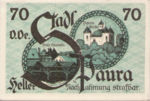 Austria, 70 Heller, FS 1008IIa