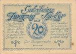 Austria, 20 Heller, FS 967a