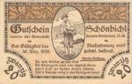 Austria, 20 Heller, FS 969IIa
