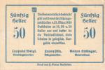 Austria, 50 Heller, FS 969IId