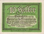 Austria, 10 Heller, FS 996a