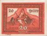 Austria, 20 Heller, FS 996b