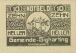 Austria, 10 Heller, FS 997a