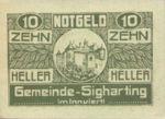 Austria, 10 Heller, FS 997ax