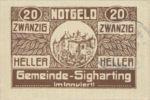 Austria, 20 Heller, FS 997d