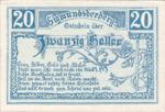 Austria, 20 Heller, FS 998a