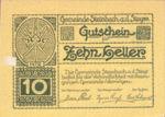 Austria, 10 Heller, FS 1025