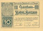 Austria, 10 Heller, FS 1025F
