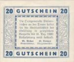 Austria, 20 Heller, FS 1029I