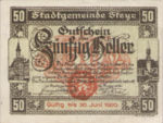 Austria, 50 Heller, FS 1034Ib