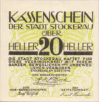 Austria, 20 Heller, FS 1038