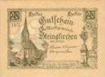 Austria, 20 Heller, FS 1017IIa