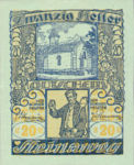 Austria, 20 Heller, FS 1023