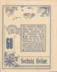 Austria, 60 Heller, FS 1023