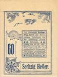 Austria, 60 Heller, FS 1023x