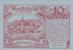 Austria, 10 Heller, FS 1028a