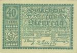 Austria, 40 Heller, FS 1036II