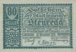Austria, 80 Heller, FS 1036II