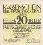 Austria, 20 Heller, FS 1038x