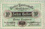 Austria, 10 Heller, FS 1073II