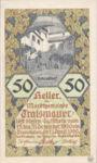 Austria, 50 Heller, FS 1078II