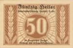 Austria, 50 Heller, FS 1056a