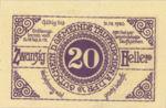 Austria, 20 Heller, FS 1058d