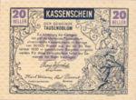 Austria, 20 Heller, FS 1060
