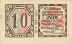 Austria, 10 Heller, FS 1061a