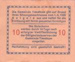 Austria, 10 Heller, FS 1072