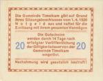 Austria, 20 Heller, FS 1072